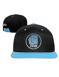 Senben The Diamond Minecart DAN TDM Logo Kids Boys Girls Hats Caps