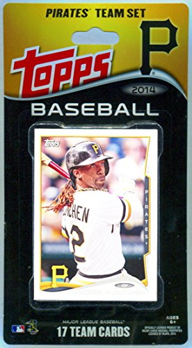 Pittsburgh Pirates Team Set - Pittsburgh Pirates 2014 Topps Baseball Factory Sealed Special Edition 17 Card Team Set with Andrew Mccutchen, Starling Marte Plus