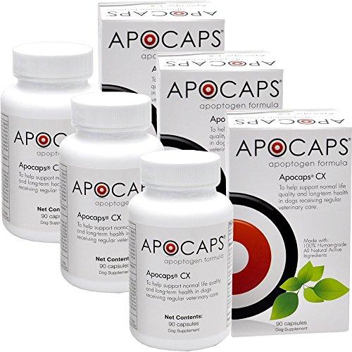 3PACK ApoCaps CX Apoptagen Formula (90 capsules) by ApoCaps