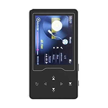 E-buch Tf Bis Zu 64g 2018 Lautsprecher Mp3 Player 16g Bluetooth Hifi Verlustfreie Sound Musik Player 2.4in Hd Bildschirm Touch Tasten Fm Radio