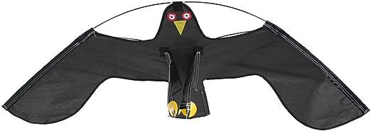 GOTOTOP Defenders Hawk Kite, Bird Repeller Extendable Flying Hawk Bird Repellent Kite Farmer Crops Protecting Kite with 4m Adjustable Telescopic Pole
