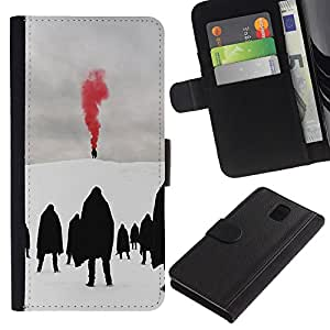 TaiTech / - Red Metal Blood Goth Invierno Oscuro - Samsung Galaxy Note 3 III