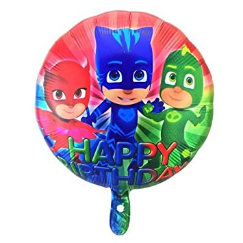 "PJ MASKS 18"" HAPPY BIRTHDAY FOIL BALLOON ..."