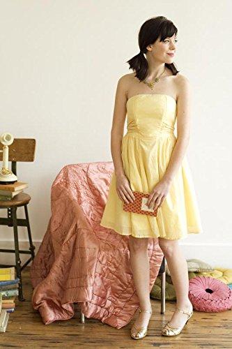 Colette Schnittmuster, Éclair Trägerloses Kleid Größe 2–20 (UK ...
