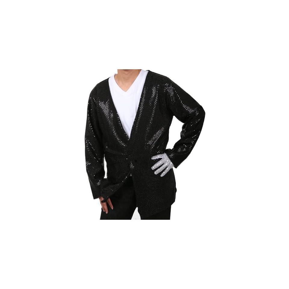 Adult Michael Jackson Billie Jean Costume Jacket Adult Sized Costumes Clothing