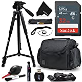 Cheap Xtech 32GB Memory Card Kit + Premium Camera Case + Pro Series 72″ inch Tripod f/ Sony Alpha A6500 A6300 A6000 A55 A9, A7R II, A7 II, A7 A7R A7S A65 A77 A99 A900 A700 A580 (32GB Accessories Kit)