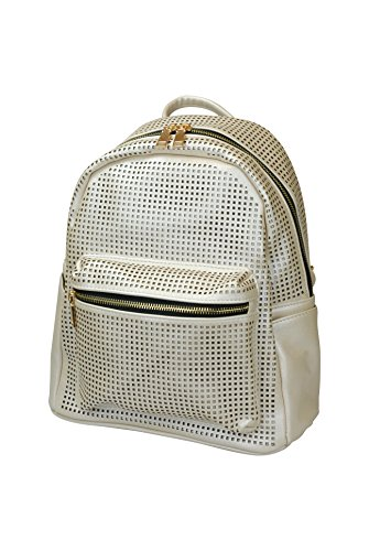 448 Small Zaino Metálico Piccolo bag bag Donna Metallico Jozemiek De 448 Poliuretano Para Bolso Mochila Mujer Jozemiek gdBgqw