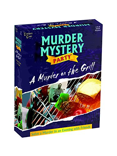Murder Mystery Party Games - A Murder on the Grill -