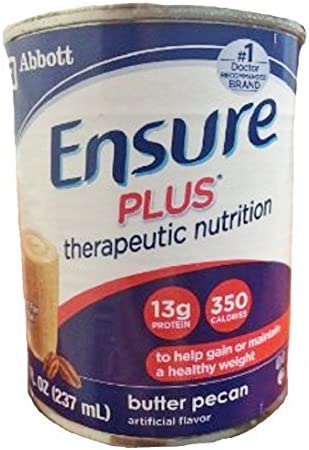 Ensure Plus Ready To Use Butter Pecan 24 8-Fl-Oz Cartons – 1 Case Of 24