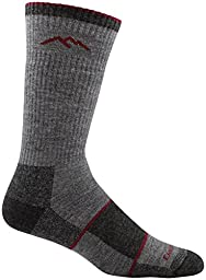 Darn Tough Men\'s Merino Wool Hiker Boot Sock Full Cushion Socks - Mens Charcoal Large