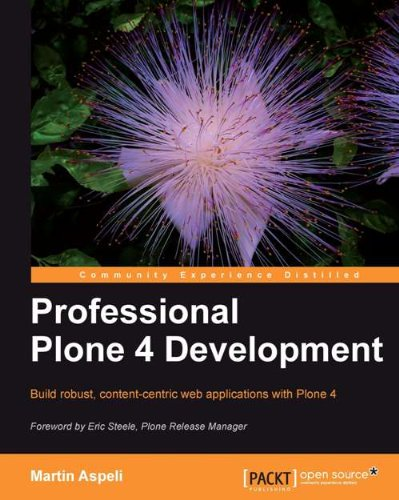 Professional Plone 4 Development  English Edition