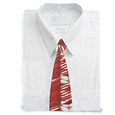 MALPLENA - Corbata de satén para hombre, diseño de flor de pascua ...