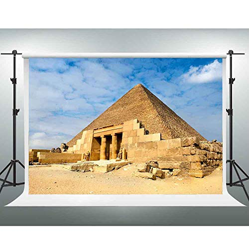 GESEN Background 10x7ft Egyptian Pyramids Photo Backdrop Themed Party Background Photo Props XCGE825 ()