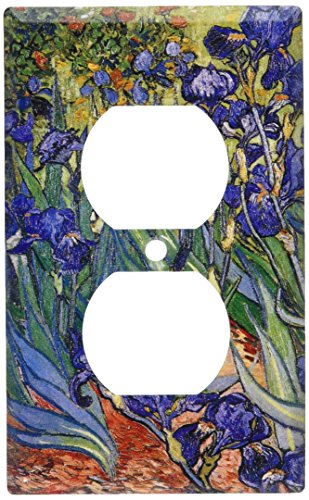 Art Plates - Van Gogh: Irises Switch Plate - Outlet Cover