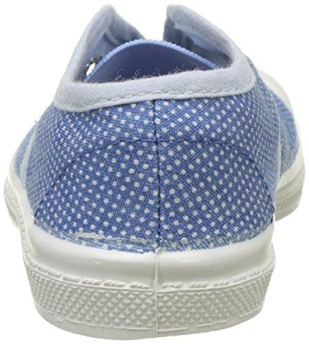 Bensimon Mädchen Tennis Elly Pois Denim Flach Blau (Bleu)