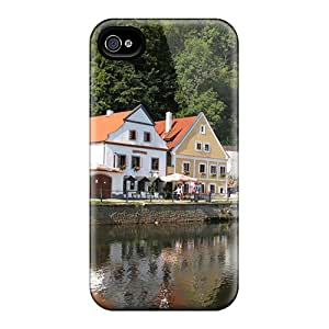 Unique Design Iphone 4/4s Durable Tpu Case Cover Czech Living