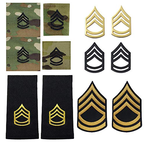 (US Army Sergeant First Class Rank Bundle (MALE))