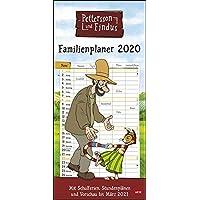 Pettersson und Findus Familienplaner 2020 21x45cm