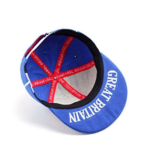 Underground Kulture - Gorra de béisbol - para hombre azul azul real Talla  única Buena 5741fefa21d