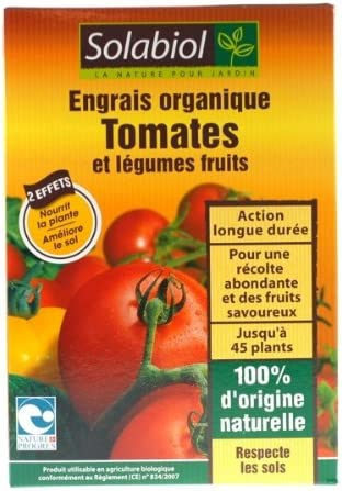 Engrais Organique Tomates 750g Amazon Fr Jardin