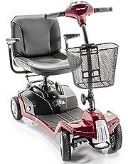 Shoprider Escape 4-Wheel Portable Take Apart Mobility Scooter + Free Accessory