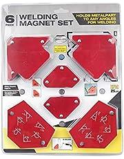 6 قطع من اللحام المغناطيسي موقف مثلث بدون مفتاح متعدد المواصفات الملحومة الملحومة الملحومة