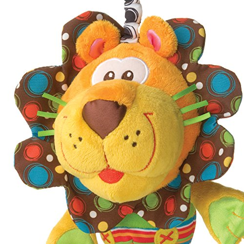 512RlSFY43L - Playgro 0181513 My First Activity Friend for Baby, 10 Inch, Roary Lion