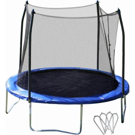 Skywalker 10 Round Trampoline And Safety Enclosure Combo