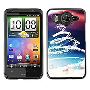 YOYO Slim PC / Aluminium Case Cover Armor Shell Portection //Christmas Holiday Tree Star Swirl 1004 //HTC G10