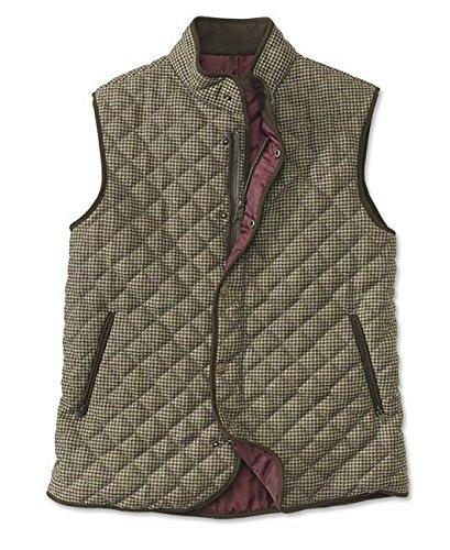 - Laksen Orvis Tweed Quilted Vest, Xx Large