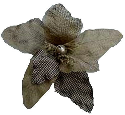 Renaissance 2000 Single Burlap Flower, Natural ()