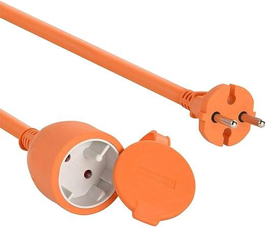 Electraline 101053 - Cable alargador eléctrico para jardín (25 m ...