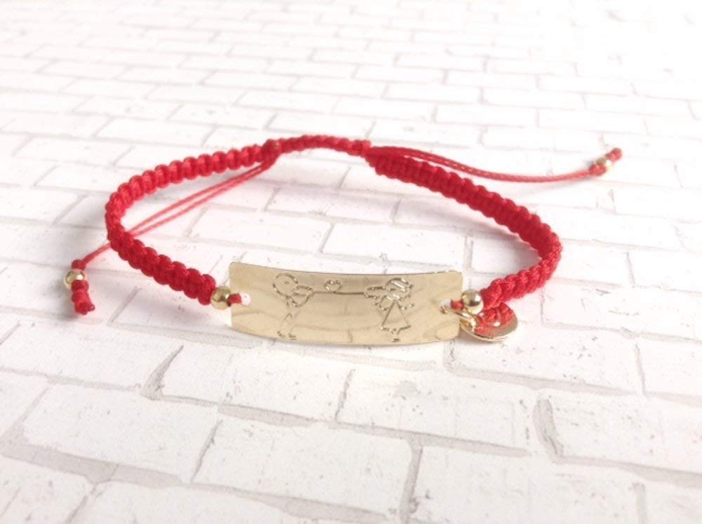 Friendship Red String Bracelets Endless Love Pulseras de Hilo Rojo