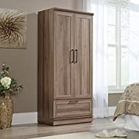 Sauder Homepluse Wardrobe in Salt Oak