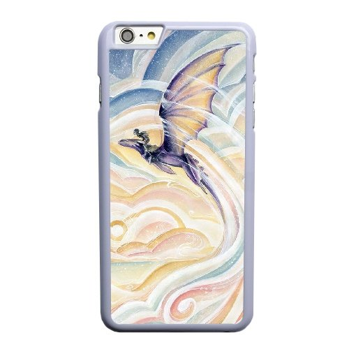 Coque,Coque iphone 6 6S 4.7 pouce Case Coque, Dragon 2 Cover For Coque iphone 6 6S 4.7 pouce Cell Phone Case Cover blanc
