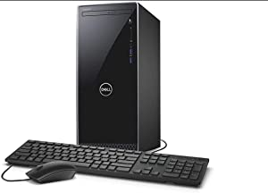 2021 Newest Dell Inspiron 3000 Desktop, Intel Core i5-9400, 16GB DDR4 Memory, 2TB Hard Disk Drive, No Optical Drive, WiFi, HDMI, Wired Keyboard&Mouse, Windows 10