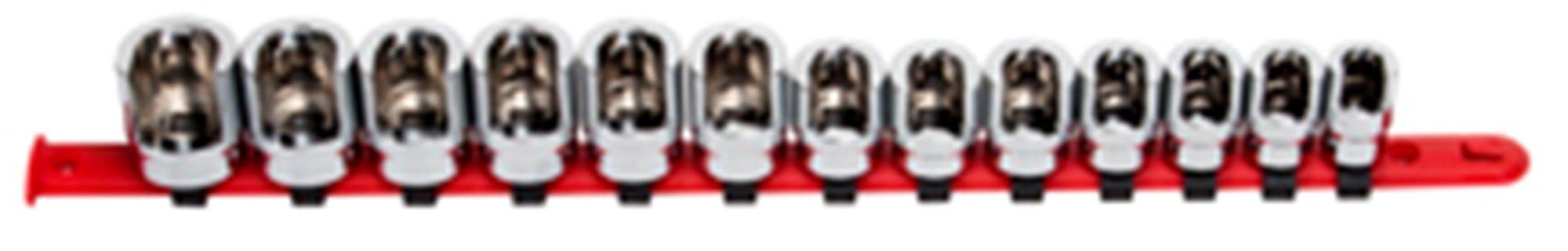 Sunex 9913 3/8-Inch Drive Weatherhead Socket Master Set, 13-Piece