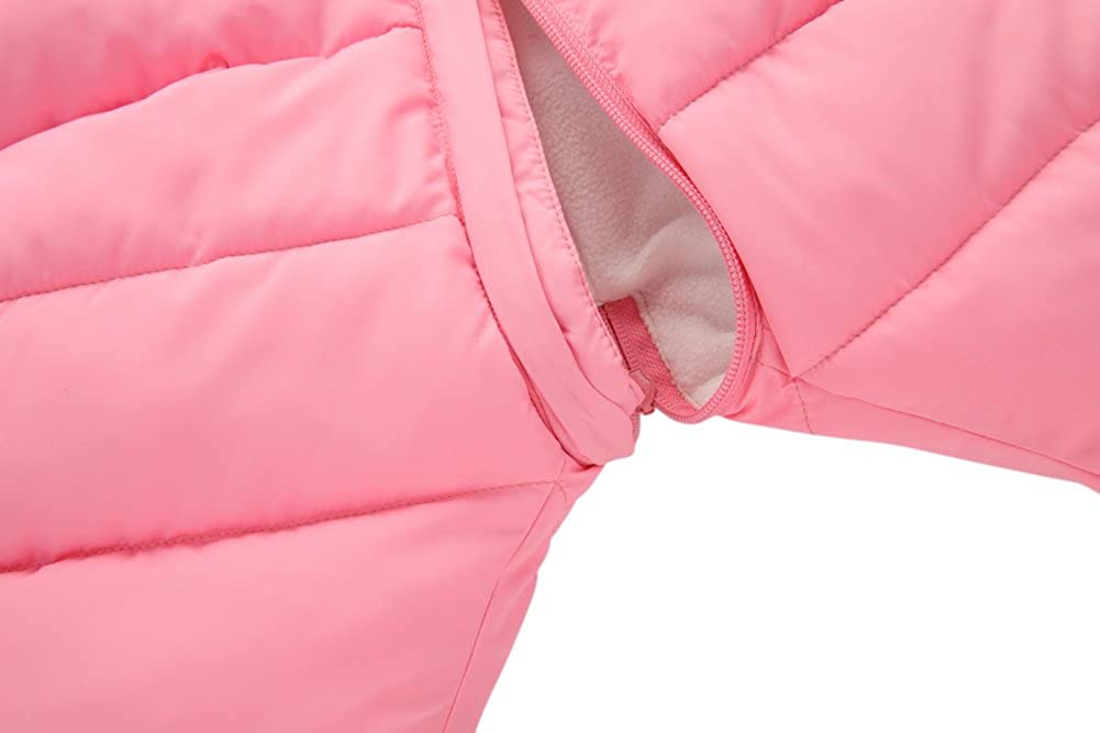 020c231e0987 Tortor 1Bacha Infant Baby Girl Boy Winter Puffer Footed Snowsuit ...