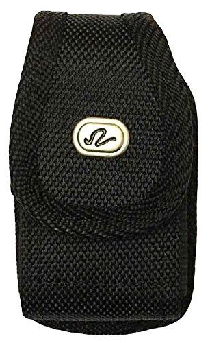 V2 Black  Classic Premium Nylon Pouch Case With Belt Clip For Medtronic Minimed Insulin Pump  530G  630G  640G  670G    Snk Retail Packaging