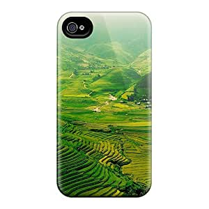 RobertWood ZEC11616crqA Cases For Iphone 6 With Nice The Green Fields Appearance