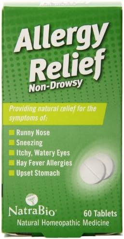 Natrabio Allergy Relief 60 Tablets