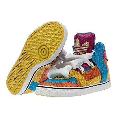 adidas Jeremy Scott JS Os Multicolore Homme Cuir High Chaussures/baskets D65207