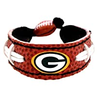 NFL Green Bay Packers Classic Football Bracelet