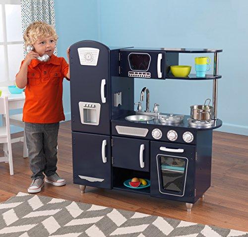 Kidkraft Navy Vintage Kitchen Toy Amazon Ca Toys Games