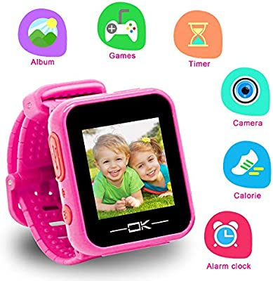Toys for 3-8 Year Old Girls Pussan Smart Watches for Kids Toddler Watch with Camera USB Charging Electronic Toys for Kids Smartwatch Kids Watches for ...