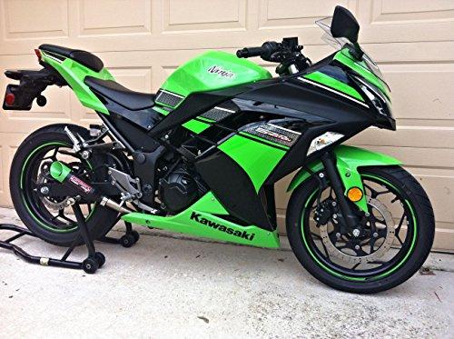 Coffman S Shorty Exhaust For Kawasaki Ninja 300 2013 17
