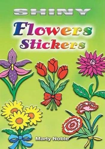 Shiny Flowers Stickers (Dover Little Activity Books Stickers)