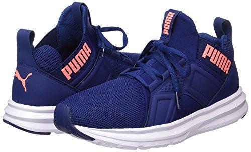 Donna Depths blue Enzo Blu Mesh Scarpe Peach nrgy Puma Outdoor Sportive cBXW1p1qH