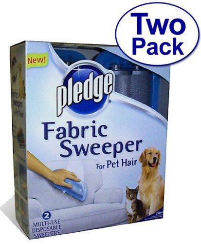 SC Johnson Pledge Fabric Sweeper for Pet Hair, 2 Pack by SC Johnson