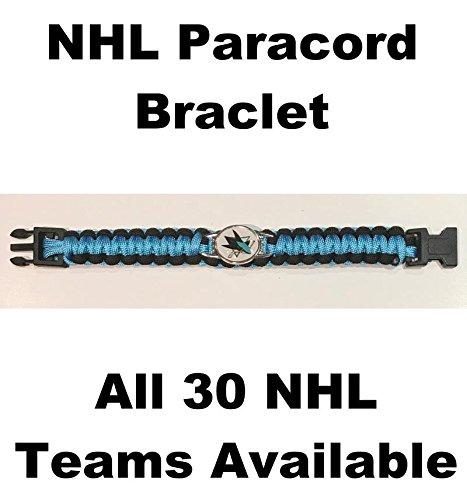 (HCW) San Jose Sharks NHL Hockey Logo Paracord 8